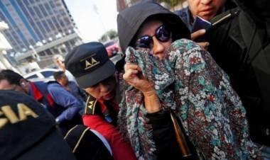 Detienen a Sandra Torres la ex candidata presidencial en Guatemala