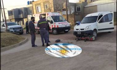 ACCIDENTE CON HERIDO