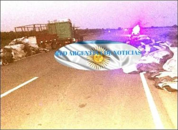 ACCIDENTE EN EL NORTE CORDOBÉS